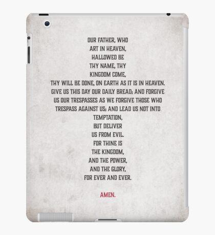 The Lord's Prayer iPad Case/Skin
