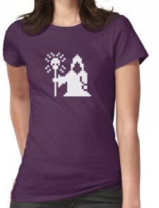 Pixel Necromancer Womens Fitted T-Shirt