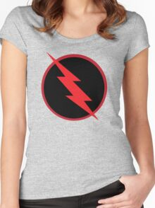 Reverse Flash Women's Fitted Scoop T-Shirt