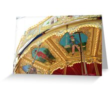 Carousel Artwork Greeting Card