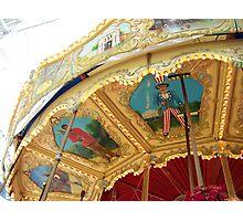 Carousel Artwork Photographic Print