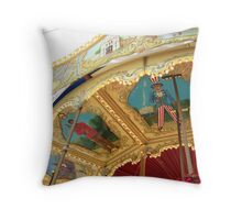 Carousel Artwork Throw Pillow
