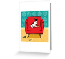 Rat Terrier Square Greeting Card
