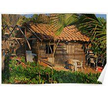 Mexico Beach House Poster