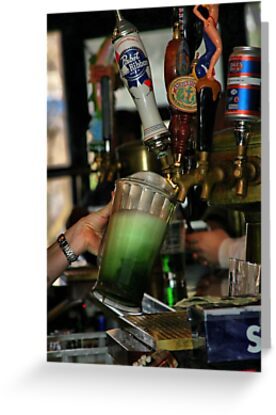 Green Beer by Barbara  Brown