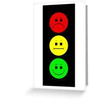 Moody  Stoplight Greeting Card