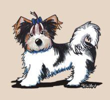 Biewer Yorkie Terrier by KiniArt