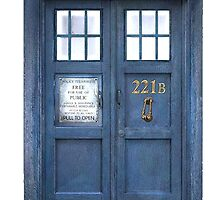 221b is Bigger on the Inside by Iliveinfantasy