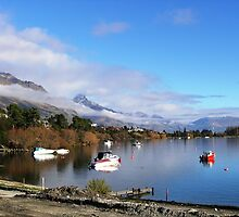 Home Town - Lake Wakatipu, Queenstown, New Zealand by Deanna Roberts Think in Pictures