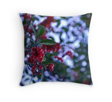 Berry Things Throw Pillow