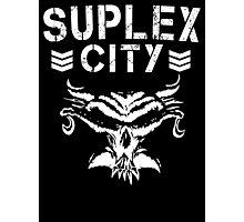 Suplex City/Bullet Club Mash Up Photographic Print
