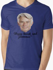 Buck Martinez Mens V-Neck T-Shirt