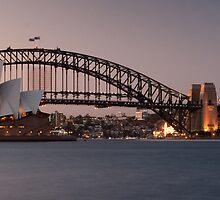Sydney Opera House & Harbour Bridge Panorama by Chris Ballment