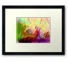 Soulove with Kisses and a dream for only You   Framed Print