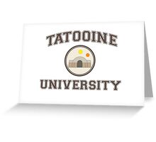 Tatooine University Greeting Card