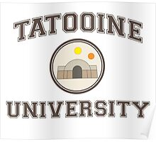 Tatooine University Poster