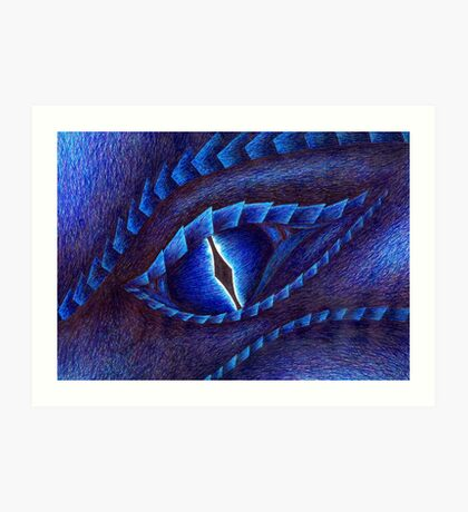 Saphira Art Print