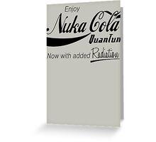 Nuka Cola Quantum Greeting Card