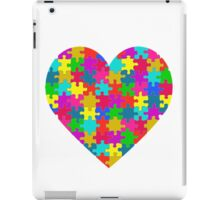 Autism awareness heart iPad Case/Skin