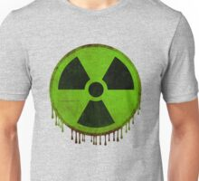 Radiation symbol green Unisex T-Shirt