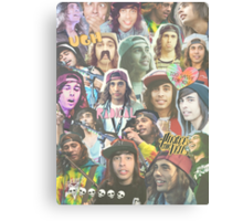vic fuentes collage Canvas Print