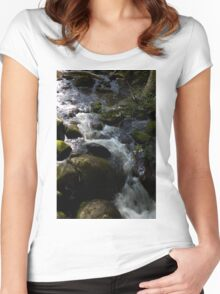 Taggerty Cascades #4 Women's Fitted Scoop T-Shirt