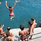 Amalfi Jump by Neil Osborne