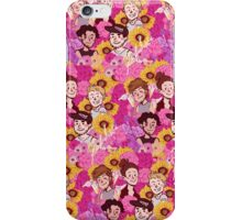 Boys and flower iPhone Case/Skin