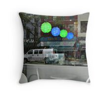 Reflection Magic, Merge of Inside and Outside Worlds Throw Pillow