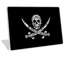 Pirate Service Announcement Laptop Skin