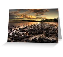 Saltwater beach Greeting Card