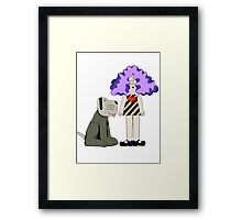 Crystal Tipps and Alistair Framed Print