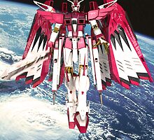 Avenging Angel Gundam_Challenging by v1c3r0y