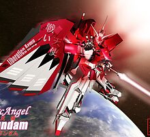 ArchAngel Gundam_Charging by v1c3r0y