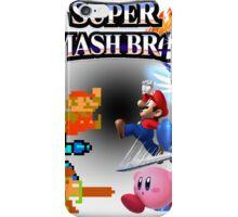 NES vs. Wii U/3DS 'Never Old' Sticker iPhone Case/Skin