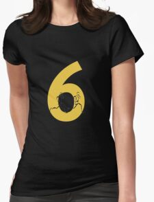 Running Through The Six Womens Fitted T-Shirt