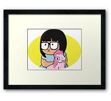 BABY TINA  BELCHER Framed Print