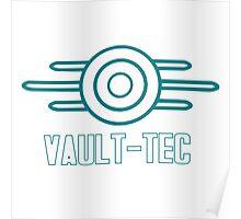 """Fallout 3 - """"Vault-Tec"""" Poster"""