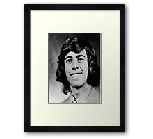 Young Jerry Seinfeld Framed Print