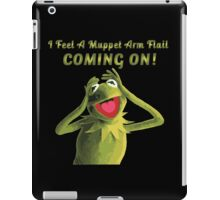 Muppet Arm Flail YAY iPad Case/Skin