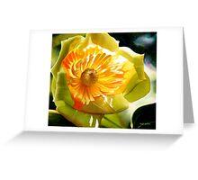 Poplar Tulip Floral Watercolor  Greeting Card