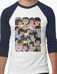 when your scrolling tumblr and... Men's Baseball ¾ T-Shirt