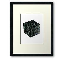 Ruborgs Cube Framed Print