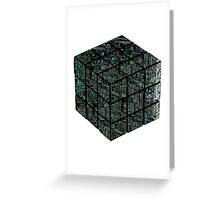 Ruborgs Cube Greeting Card