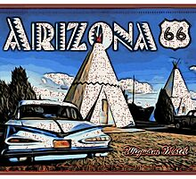 Wigwam Motel Route 66 by givemefive