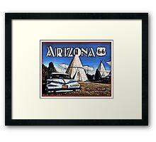 Wigwam Motel Route 66 Framed Print
