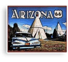Wigwam Motel Route 66 Canvas Print