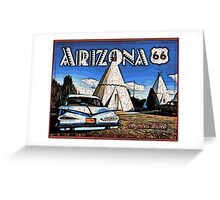 Wigwam Motel Route 66 Greeting Card