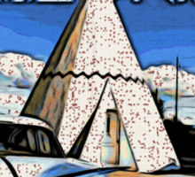 Wigwam Motel Route 66 Sticker