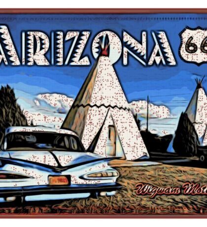 Wigwam Motel Route 66 Sticker